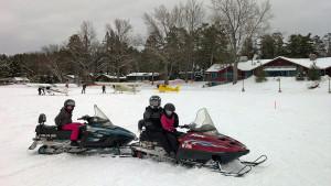 Hayward Wisconsin Snowmobiling